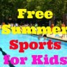 Free Summer Outdoor Sports Programs for NYC Kids: No-Cost Swimming Lessons, Golfing, Tennis, Kayaking & More