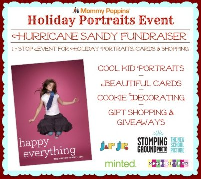 Holiday Portrait Event Hurricane Sandy Fundraiser