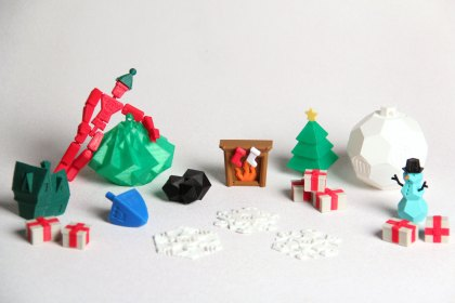 Make Your Own Ornament at MakerBot