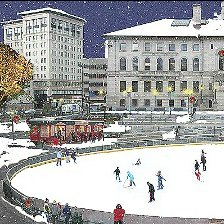 8 Outdoor Ice Skating Rinks for Kids and Families in and Around Boston