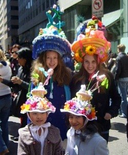 Easter Weekend for NYC Kids: Free Egg Hunts, Easter Parade, Auto Show, Passover Fun April 19-20