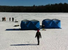 Ice Fishing and Eagle Watching With Kids in Hartford County, CT
