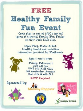 You're Invited to Our Free Healthy Family Fun Event
