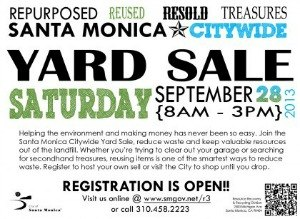 Santa Monica Citywide Yard Sale