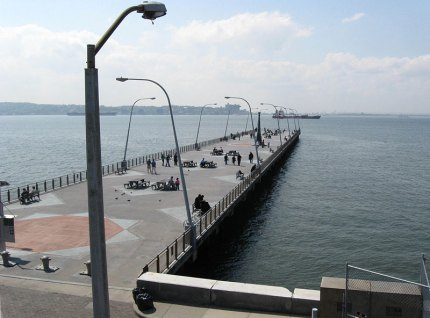 As does the 69th Street Pier, where you can fish and watch the boats go by