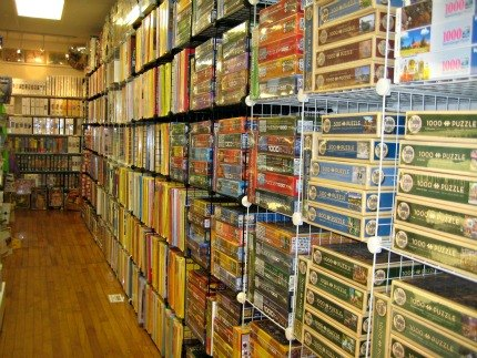 Just try to choose a puzzle from the massive assortment at Board Silly.