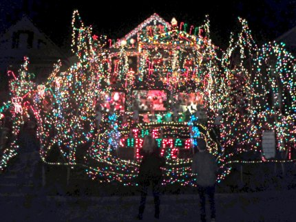 The Christmas House in Torrington, Connecticut - Mommy Poppins - Things To Do With Kids - Christmas/Hanukkah
