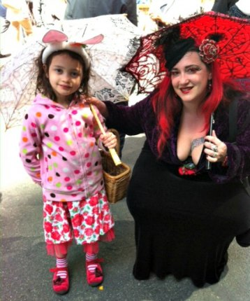 My daughter and I dress up and go to the Easter Parade every year