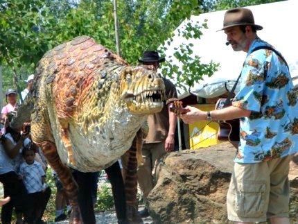 T.rex Feeding Frenzy might scare preschoolers