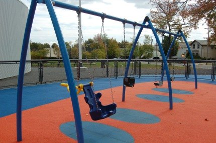 Swings for toddlers, big kids and children with special needs
