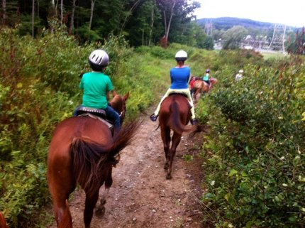 Horseback Riding at Fernwood