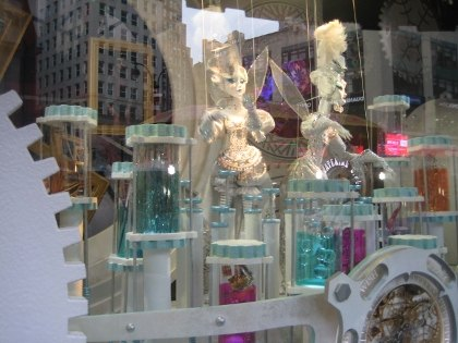 Macy's animated wish windows