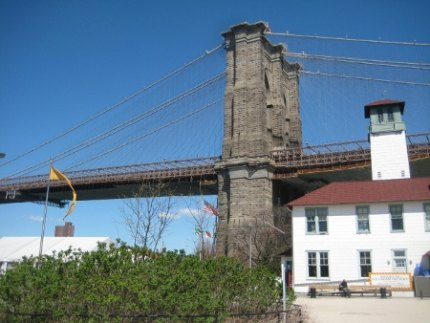 Brooklyn Bridge Park's iconic namesake