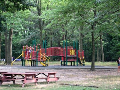 Willowbrook Park's playground and picnic area
