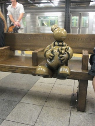 Tom Otterness' magical Life Underground