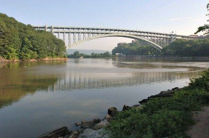 Wander through the history-packed Inwood Hill Park, which offers stunning river views; photo by Daniel Avila