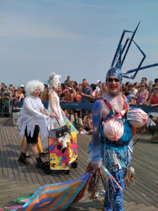 Anything goes at the Mermaid Parade in Coney Island