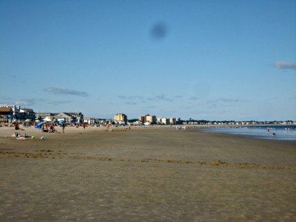 A postcard perfect day on Old Orchard Beach.