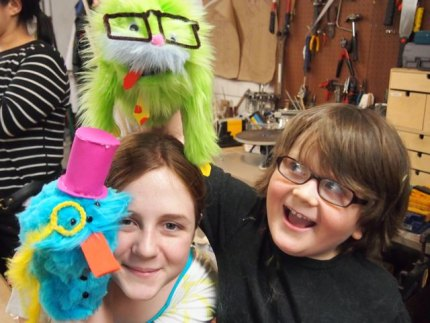 We love our puppets!