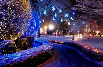Mommy Poppins Things To Do With Kids Christmas Hanukkah - Christmas Lights In La