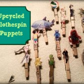 Things to do with kids: WeeWork Kids Craft: Upcycled Clothespin Puppets