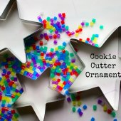 Things to do with kids: WeeWork Holiday Crafts: Easy Cookie Cutter Ornaments