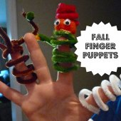 Things to do with kids: WeeWork Kids Craft: Spooky Halloween Finger Puppets