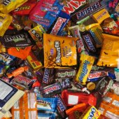 Things to do with kids: What to Do with a Bounty of Halloween Candy: Tricks for Making (most of) it Disappear