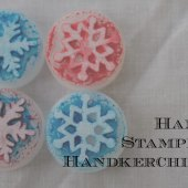 Things to do with kids: Kid-Made Gifts: Hand-Stamped Hankies
