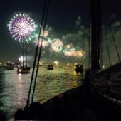 Things to do with kids: NYC 4th of July Fireworks Cruises: See Macy's Fireworks from a Boat on the East River