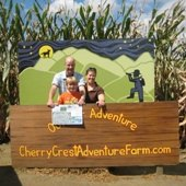 Things to do with kids: Columbus Day Getaway-Family Fun at Cherry Crest Adventure Farm: Pick Your Own Pumpkins and Popcorn & a 5 Acre Corn Maze
