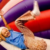 Things to do with kids: Bounce Houses in NYC: BounceU and Other Indoor Places for Kids to Jump Around