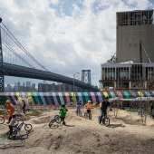 Things to do with kids: Brooklyn Bike Park Brings Mountain Biking to NYC Kids