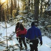 Things to do with kids: Where to Go Cross Country Skiing & Snowshoeing in Fairfield County, CT
