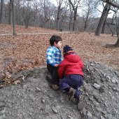 Things to do with kids: Exploring Franklin Park with Toddlers