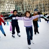 Things to do with kids: Outdoor Ice-Skating Rinks in NYC Including Four Brand-new Rinks