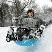 Things to do with kids: Free Sledding and Hot Chocolate in NYC Parks Saturday, January 4, 2014