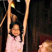 Things to do with kids: Trapeze Classes for NYC Kids: Where to Study Aerial Circus Arts
