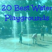 Things to do with kids: Water Feature: 20 Best Water Playgrounds in NYC