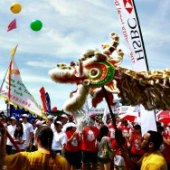 Things to do with kids: Weekend Fun for NYC Kids: Hong Kong Dragon Boat Festival, FringeJr, Smokey Bear's Birthday, Summer Streets August 9-10