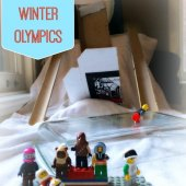Things to do with kids: WeeWork Activities: DIY Mini-Fig Winter Olympics