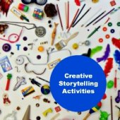 Things to do with kids: WeeWork Preschool Activity: Make an I Spy Book for Playful Storytelling