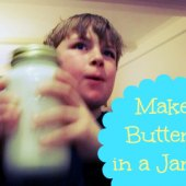 Things to do with kids: WeeWork Kid Recipe: How to Make Homemade Butter