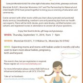 New Mommies and Moms-to-be Mix & Mingle