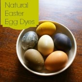 Things to do with kids: Dyeing Easter Eggs Naturally with Fruit, Vegetables and Spices