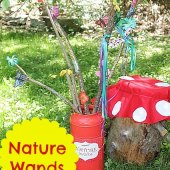 Things to do with kids: WeeWork Kids Craft: Nature Wands