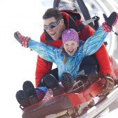 Things to do with kids: Winter Coasters and Zip Lines in New England for Chilly Family Thrills