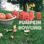 Things to do with kids: Halloween Games: Pumpkin Bowling