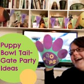 Things to do with kids: Perfect Puppy Bowl Tailgate Party Snack & Activity Ideas