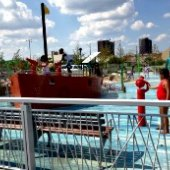 Things to do with kids: Rockaway Park in Queens: A Renovated Oasis with New Playgrounds, an Awesome Water Play Area, a Skatepark and Ballfields